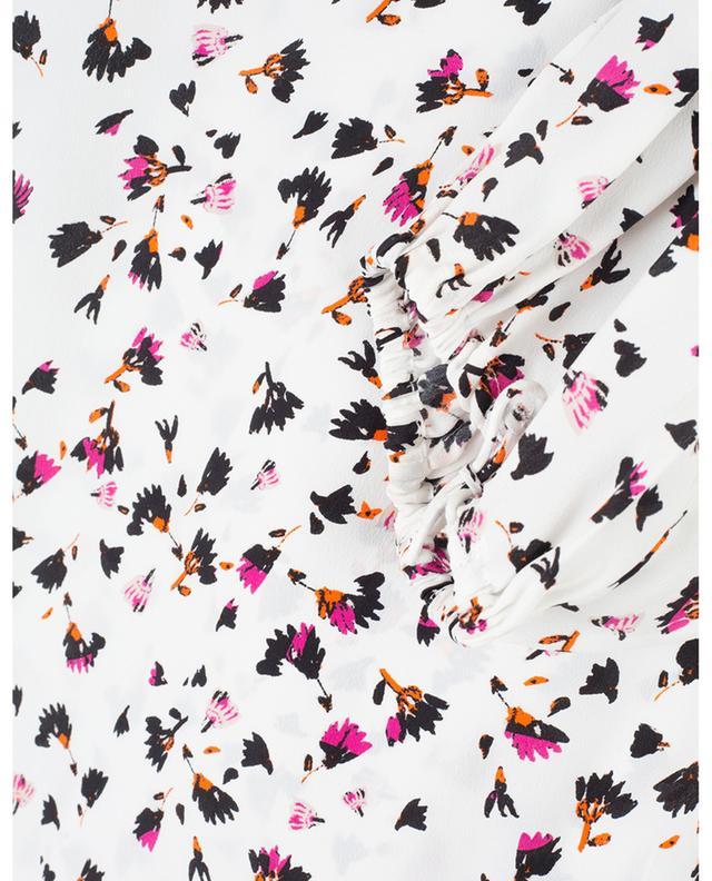Blouse en soie mélangée Simplistic Flowers SCHUMACHER