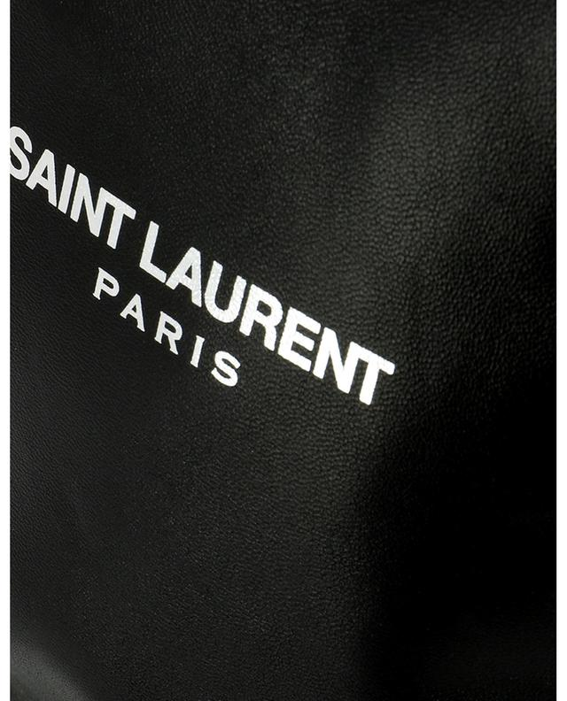 Teddy Small leather bucket bag with wallet SAINT LAURENT PARIS