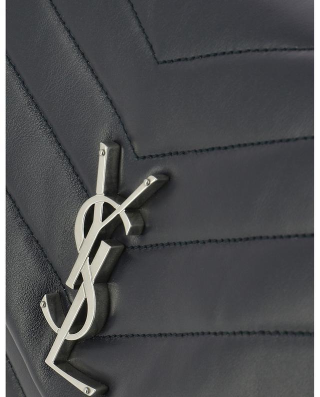 Schultertasche aus Leder mit Y-Steppmuster Loulou Medium SAINT LAURENT PARIS