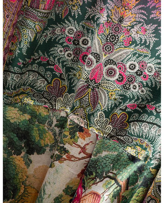 Floral print viscose midi dress ETRO