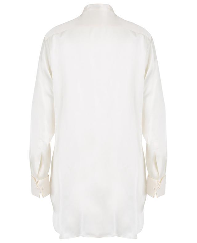 Seidenhemd mit Latz aus Fil-Coupé-Jacquard ETRO