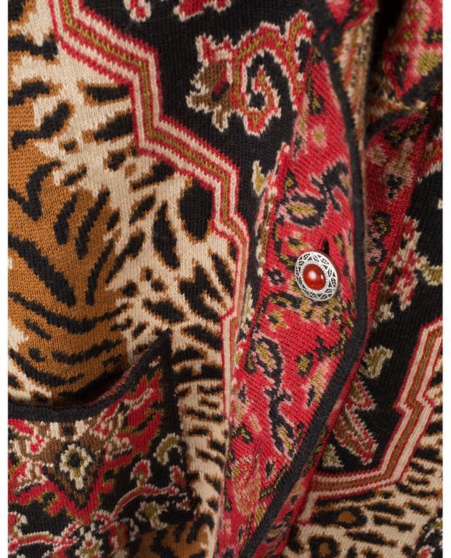 Langer Cardigan aus Wollmischgewebe ETRO