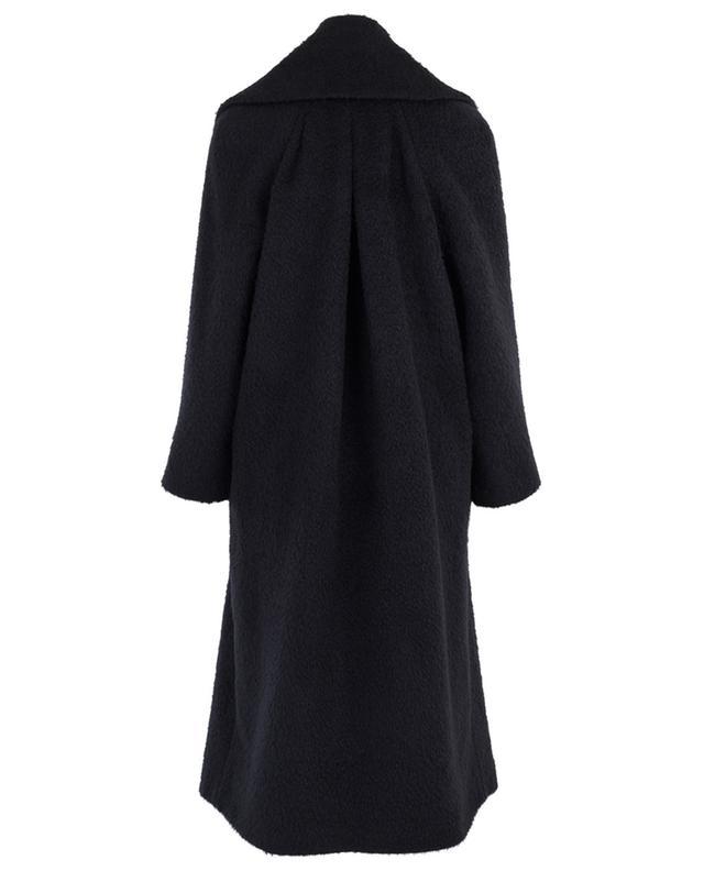 Manteau décontracté en laine brossée SLY 010
