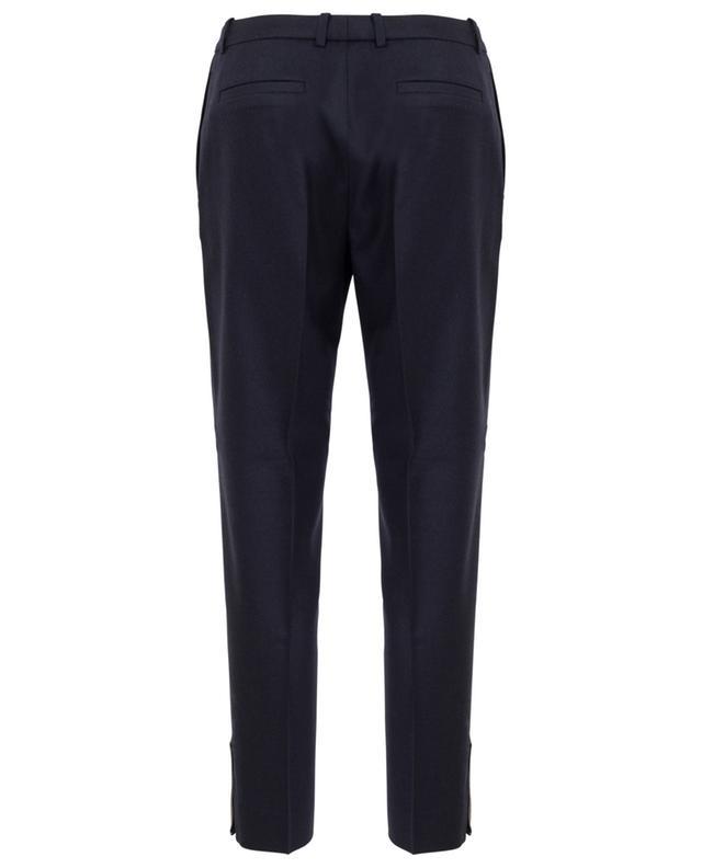Assisi virgin wool blend slim fit trousers FABIANA FILIPPI