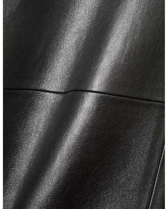 Slim-Fit-Hose aus Metallic-Leder Todi FABIANA FILIPPI