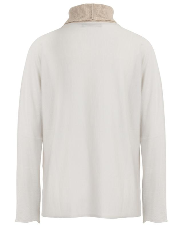 Turtleneck cashmere and silk jumper FABIANA FILIPPI