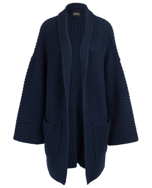 Cardigan oversize en laine mélangée SLY 010