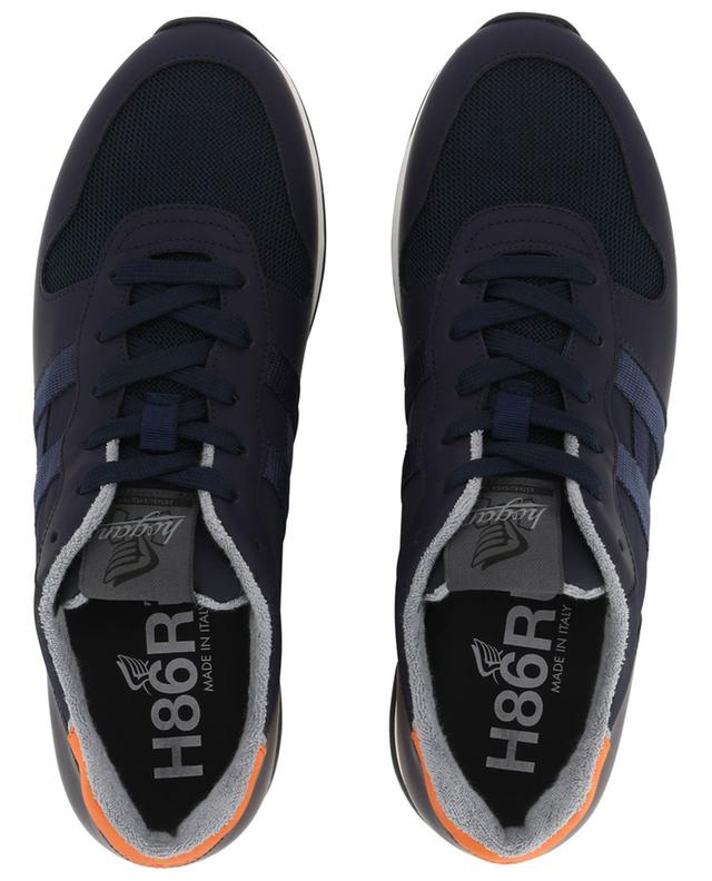 Baskets en tissu et cuir H383 Retro-Running HOGAN
