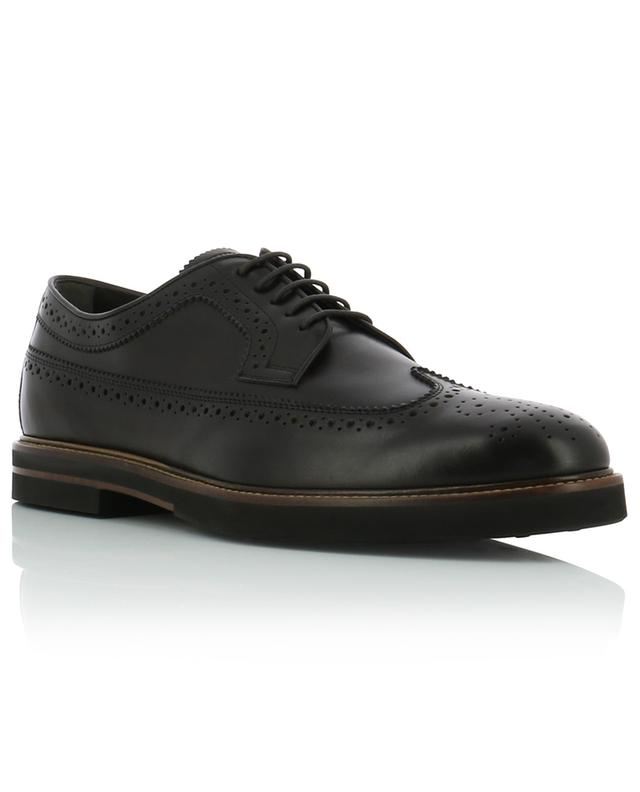 Perforated leather derbies TOD'S