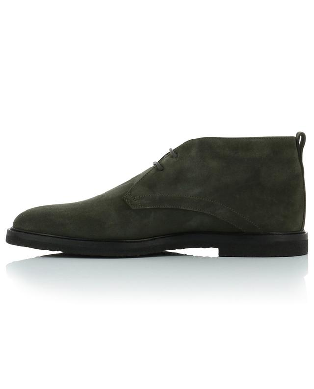 Bottines à lacets en daim TOD'S