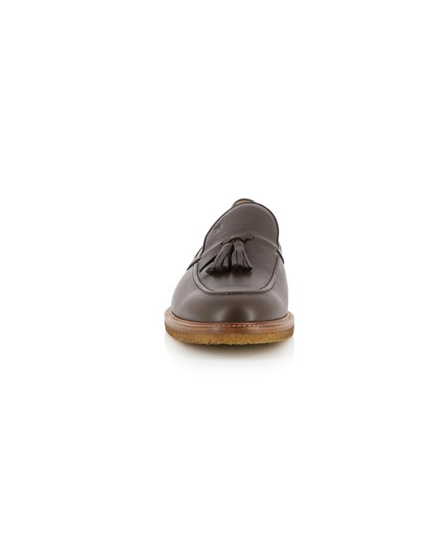 Grained leather loafers with tassels TOD'S