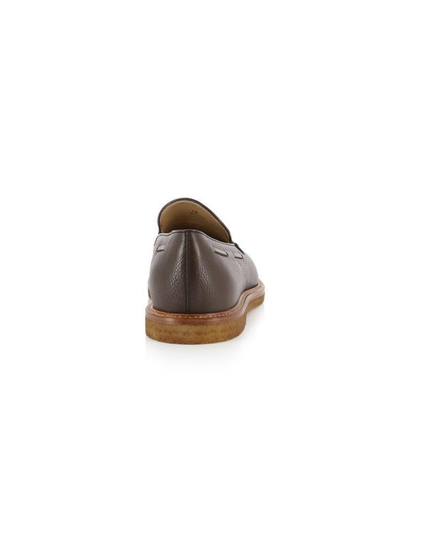 Mokassins aus genarbtem Leder mit Quasten TOD'S