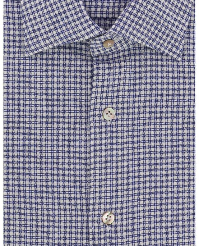 Chemise texturée à carreaux Metis THE GIGI