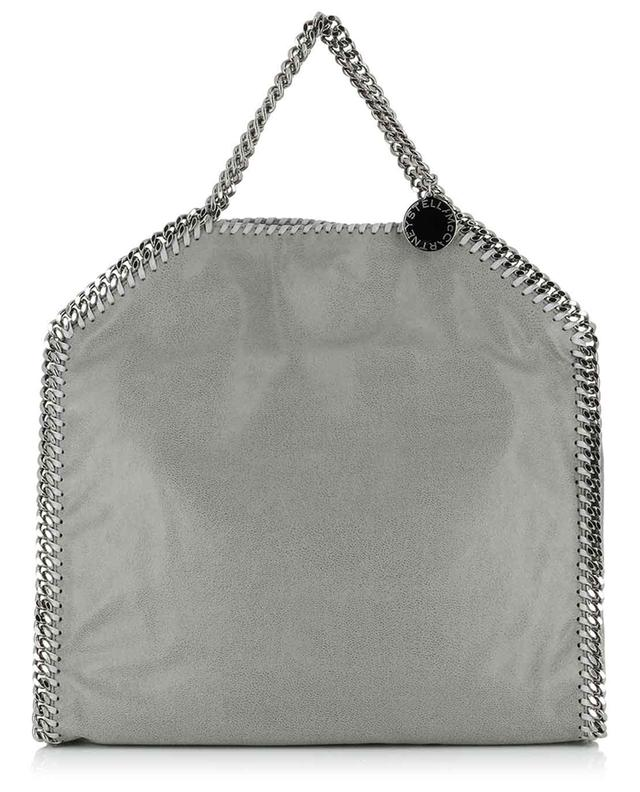 Falabella Fold Over Shaggy Deer faux suede tote bag STELLA MCCARTNEY