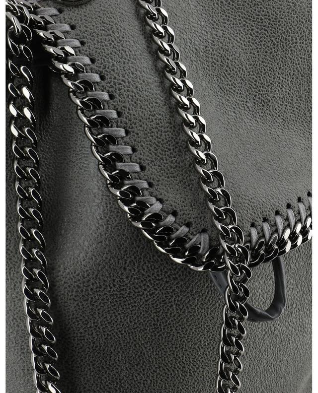 Rucksack aus Kunstwildleder Falabella Shaggy Deer Mini STELLA MCCARTNEY