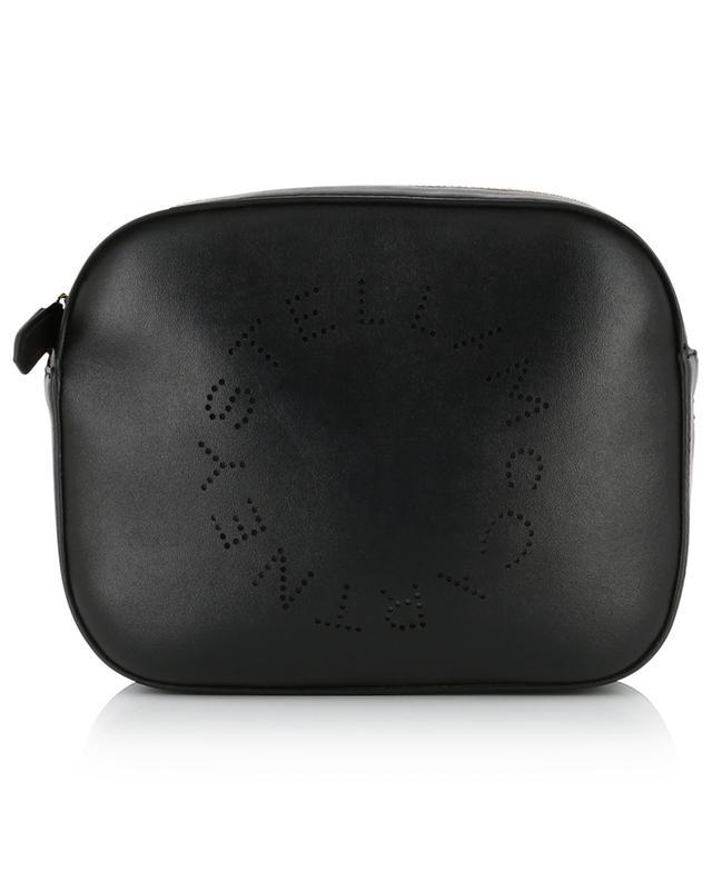 Sac porté croisé en cuir synthétique Stella Logo Mini Camera STELLA MCCARTNEY