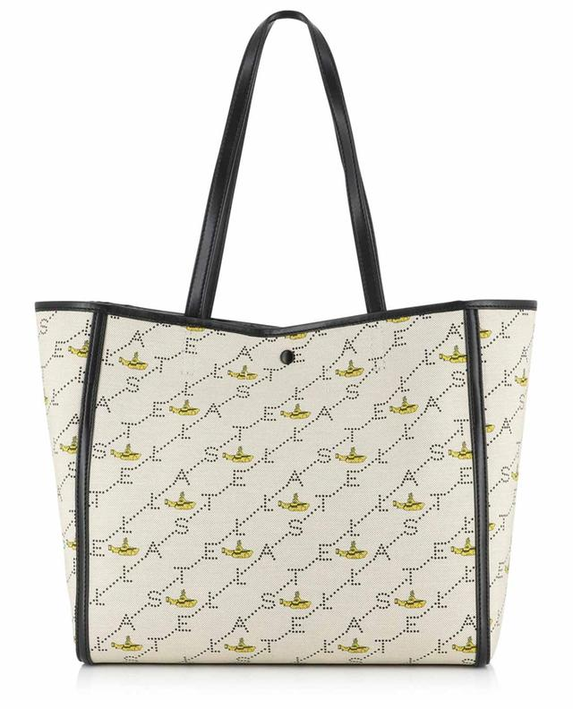 All Togehter Now Monogram Small canvas tote bag STELLA MCCARTNEY