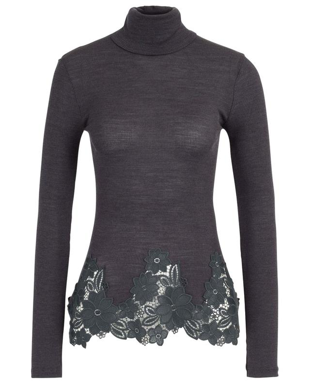 370 Moments Of Opulence turtle neck top ZIMMERLI
