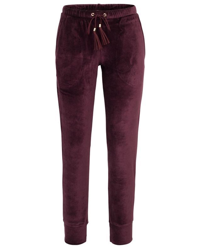 Velvet trousers ZIMMERLI