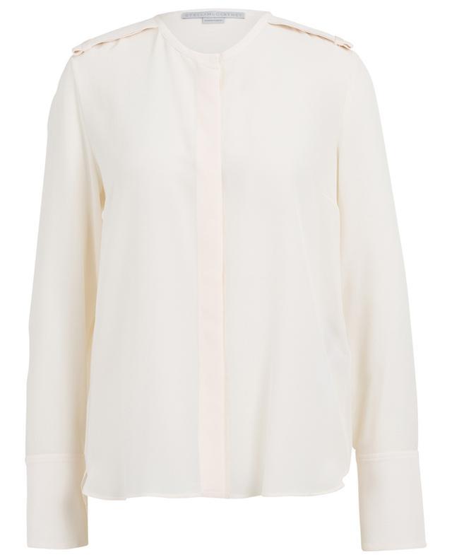Silk shirt with shoulder tabs STELLA MCCARTNEY