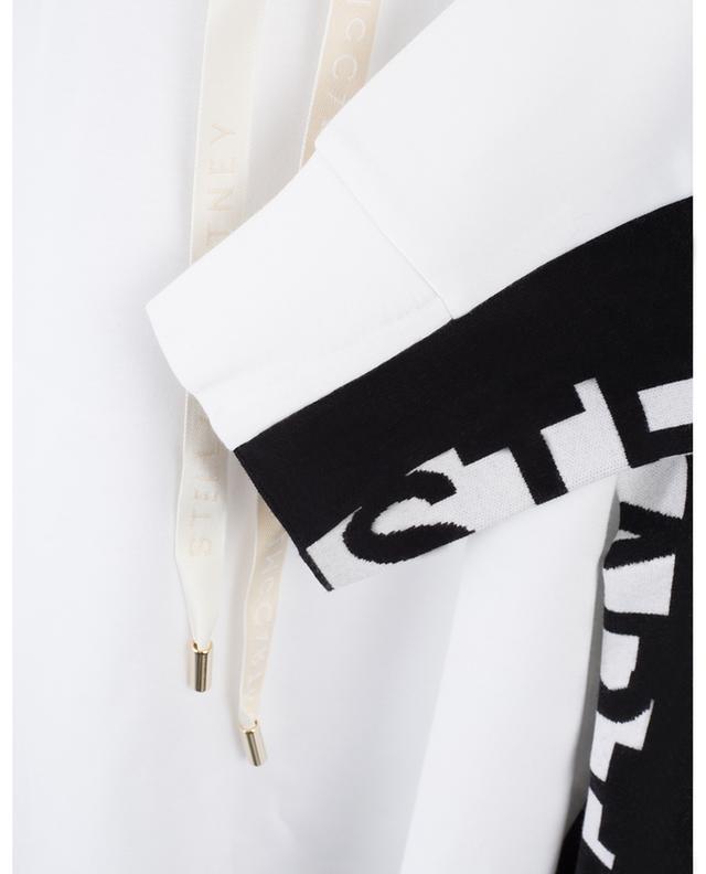 Sweat-shirt en jersey logo STELLA MCCARTNEY