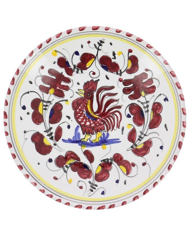 Assiette à antipasti motif coq Gallo Rosso S PIATAVOLA