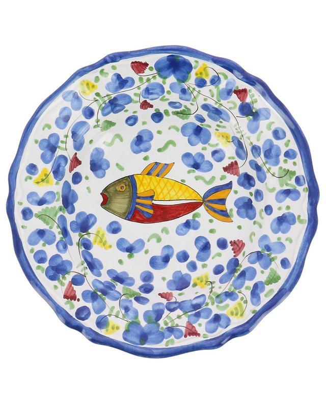 Pastateller mit Fischmotiv Pesce Azurro M PIATAVOLA