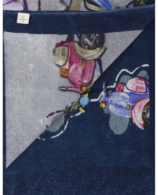 Écharpe tissée imprimée Scooter 19 ANDREA'S 47