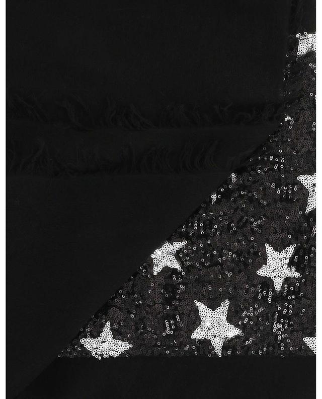 Écharpe brodée d'étoiles en sequins Unicorn GAYNOR