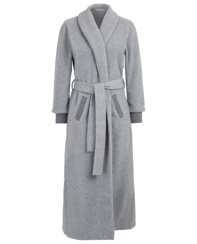 Robe de chambre détail mailles Godiva PLUTO