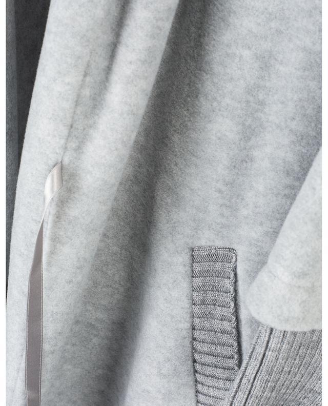 Peignoir long détail mailles Godiva PLUTO