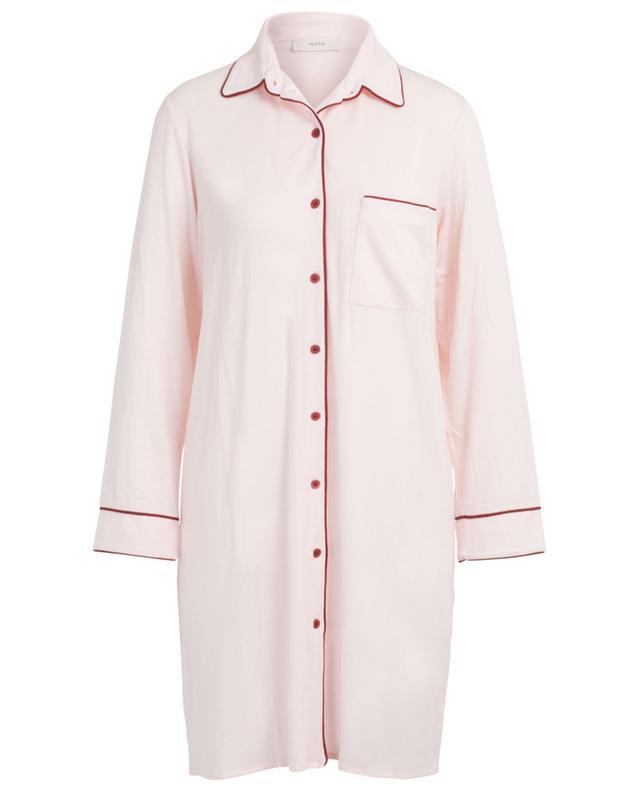 Chemise de nuit boutonnée à liséré Iluna PLUTO