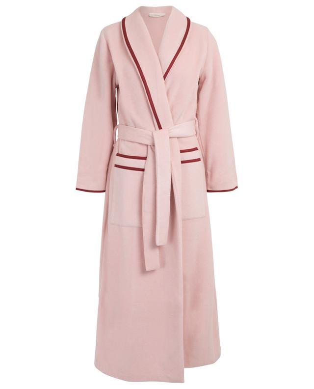 Inola long fleece bathrobe PLUTO