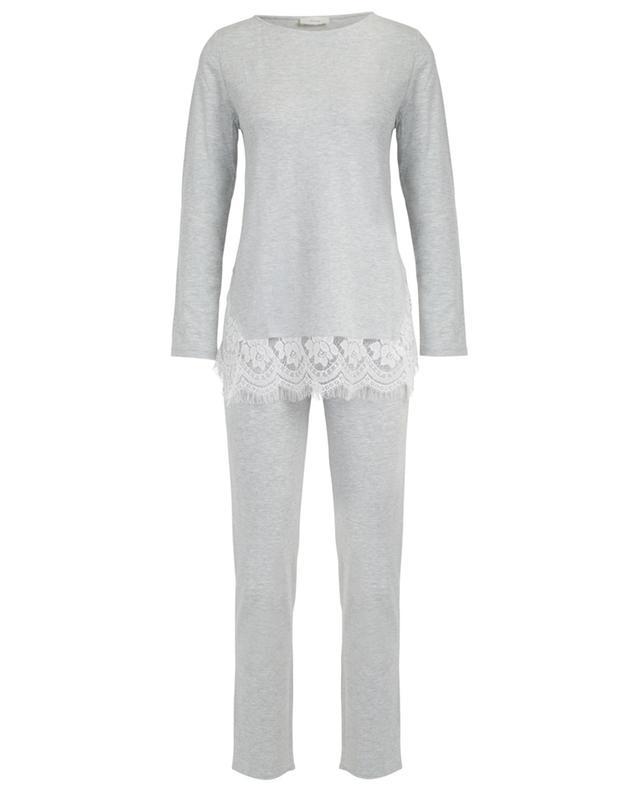Jaffa modal pyjama with lace PLUTO