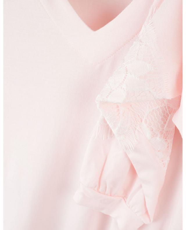 Jalika lace embellished jersey pyjamas PLUTO