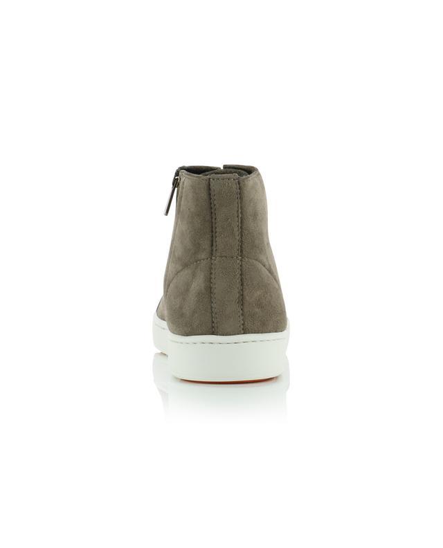 Hohe Sneakers aus Wildleder SANTONI