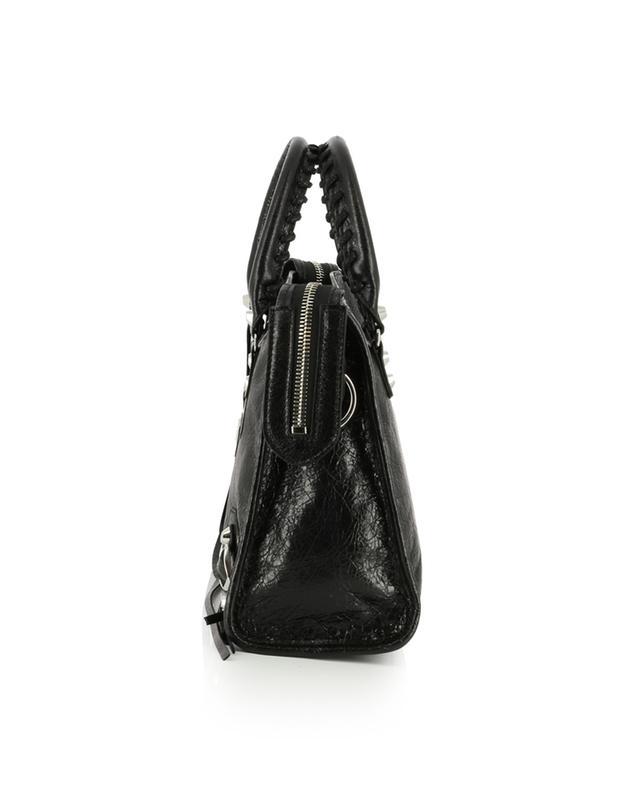 Classic City textured leather handbag BALENCIAGA