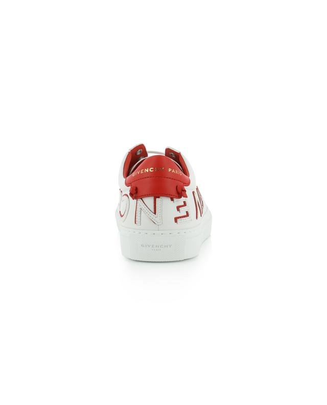 Urban Street logo patch leather sneakers GIVENCHY
