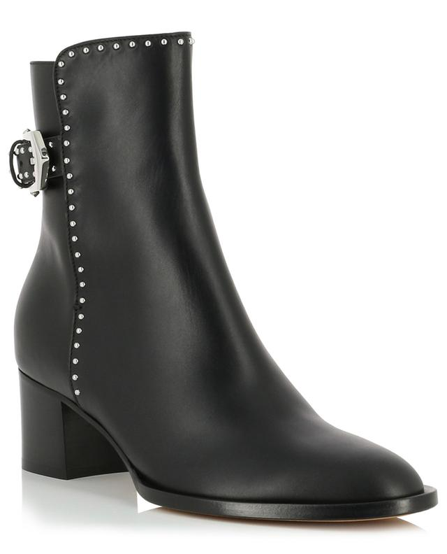 Elegant studded ankle boots with single strap GIVENCHY