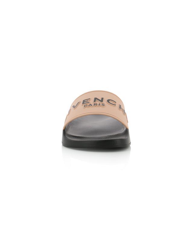 Givenchy Paris rubber slides GIVENCHY
