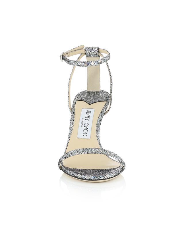Sandales en cuir hologramme Minny 85 JIMMY CHOO