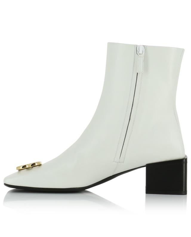 Double Square BB smooth leather booties BALENCIAGA