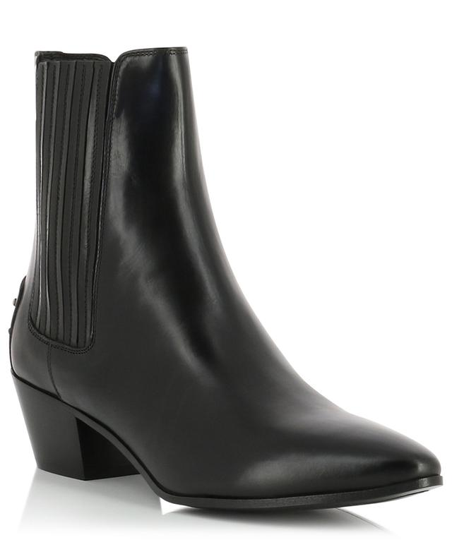 West 45 Chelsea smooth leather ankle boots SAINT LAURENT PARIS