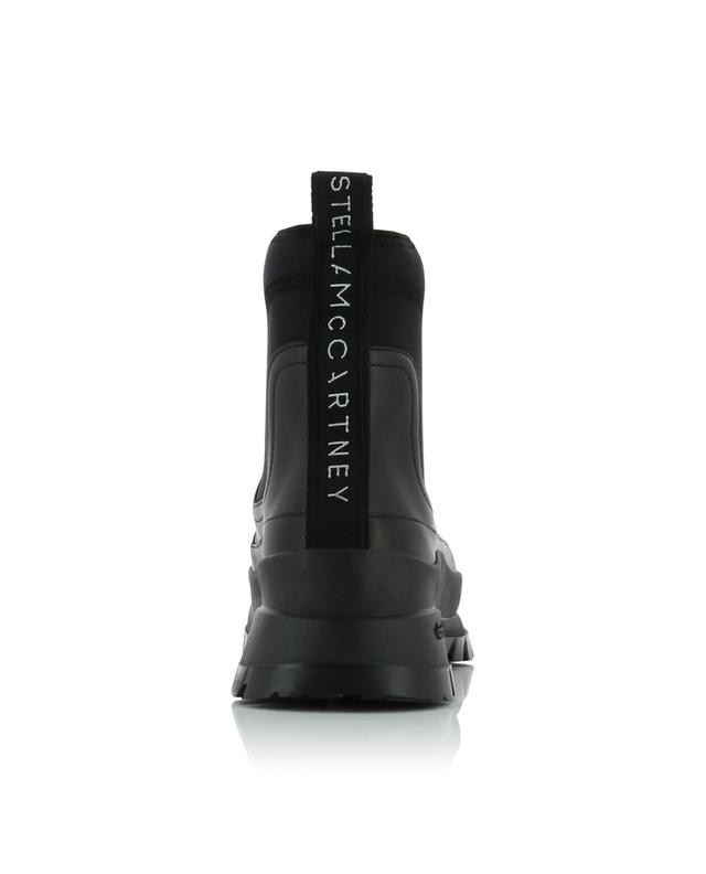 Utility neoprene and faux leather ankle boots STELLA MCCARTNEY