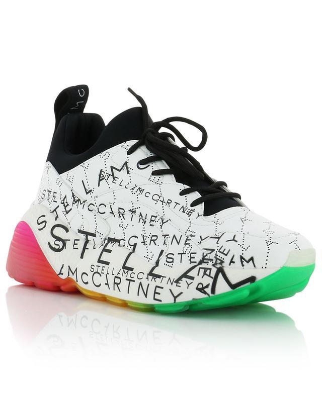 Eclypse monogrammed faux leather sneakers STELLA MCCARTNEY