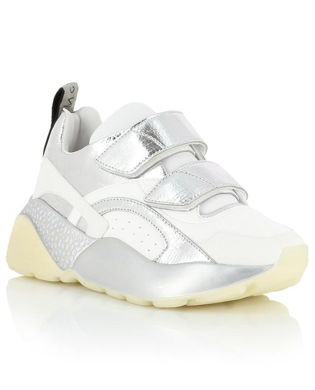 Klett-Sneakers im Materialmix Eclypse Metallic STELLA MCCARTNEY