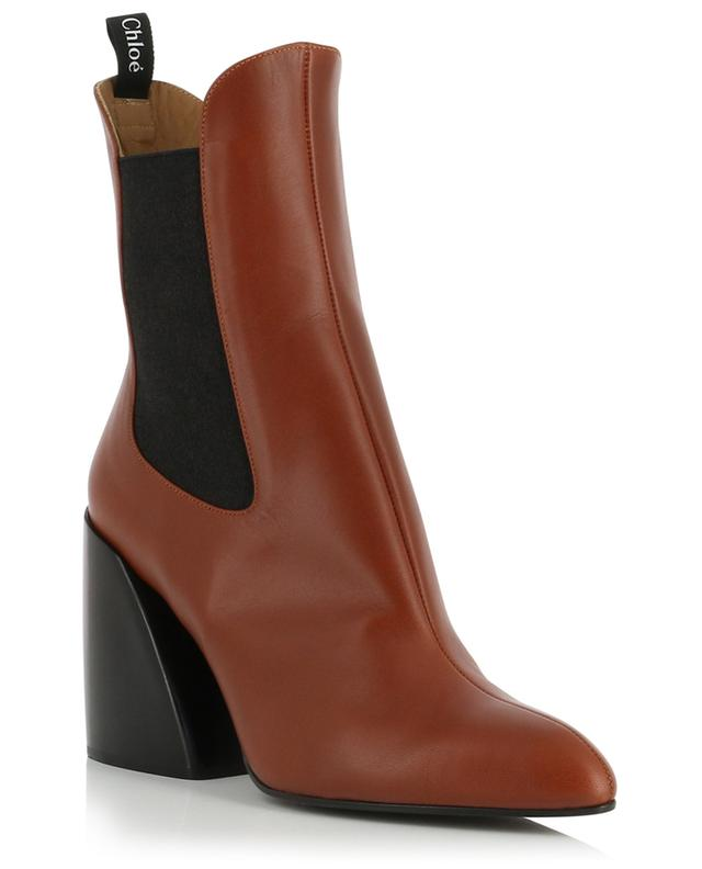 Wave Chelsea smooth leather ankle boots CHLOE