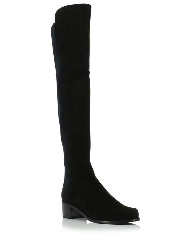 Hohe Stiefel aus Wildleder und Stoff Reserve STUART WEITZMAN