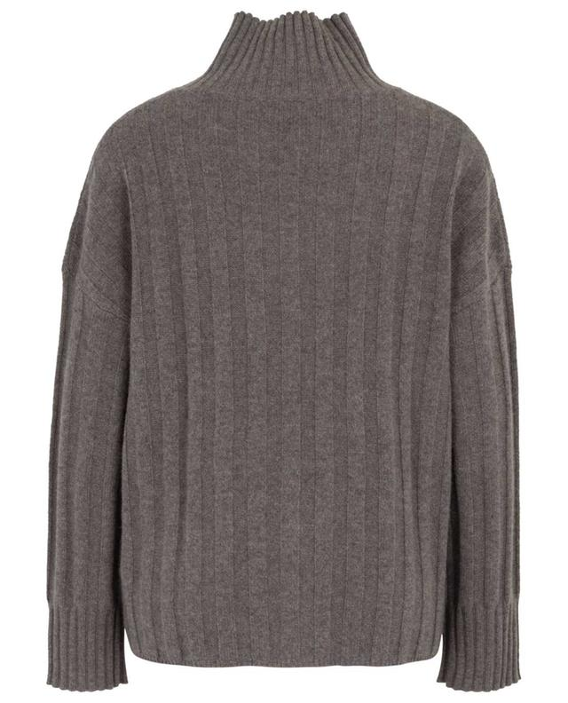Cashmere jumper with stand-up collar and pockets FTC CASHMERE