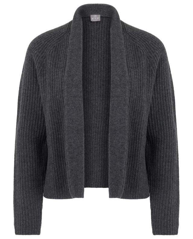 Short open thick cashmere cardigan FTC CASHMERE